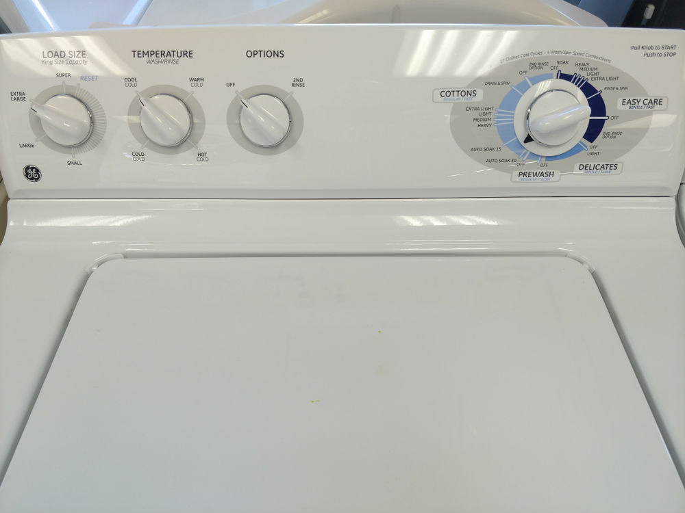 Used white washer and dryer