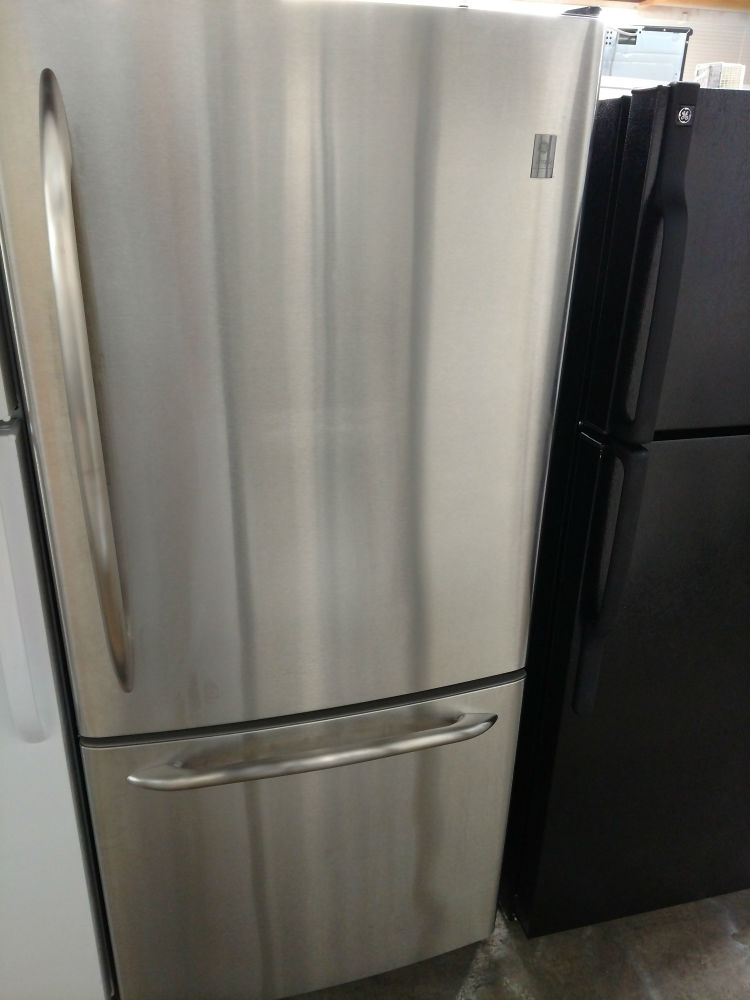 Stainless Steel Refrigerator. GE Profile Stainless Steel Refrigerator