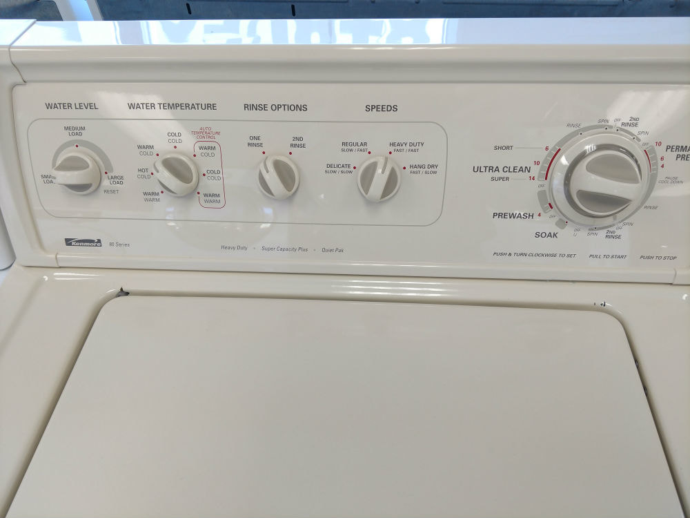Used top load dryer