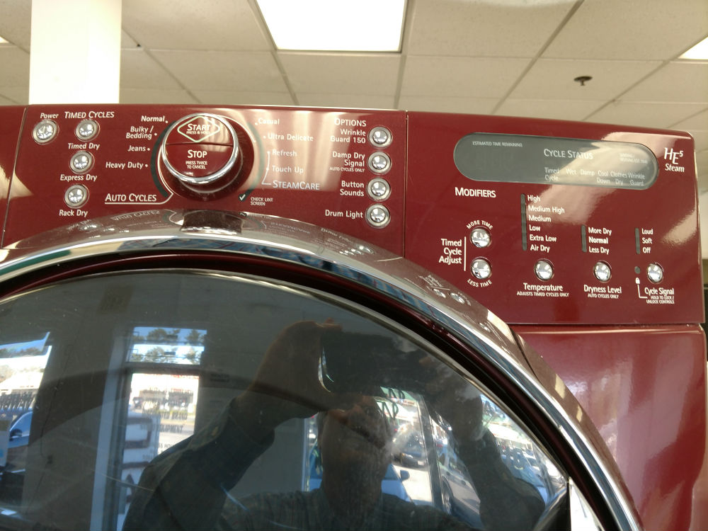 Used color washer dryer