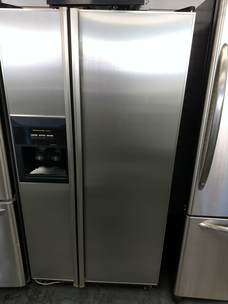 Side By Side Refrigerator Pg Used Appliances