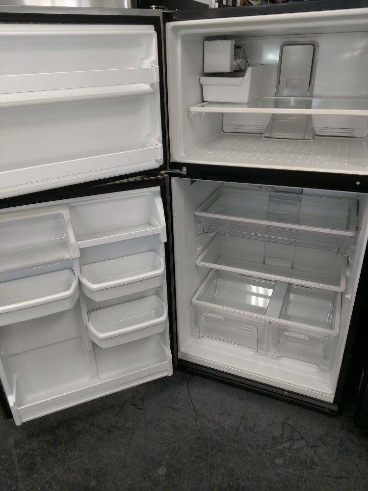 Used top freezer refrigerator
