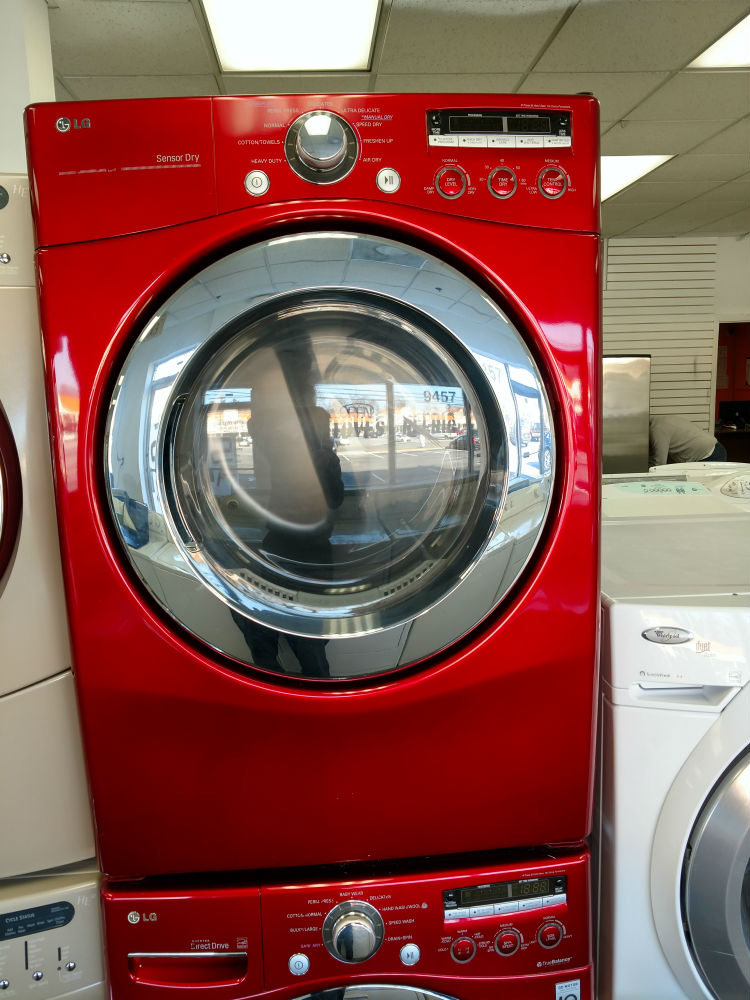 Used stackable dryer