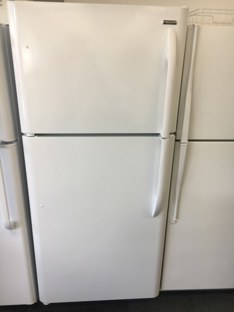 White top and bottom fridge