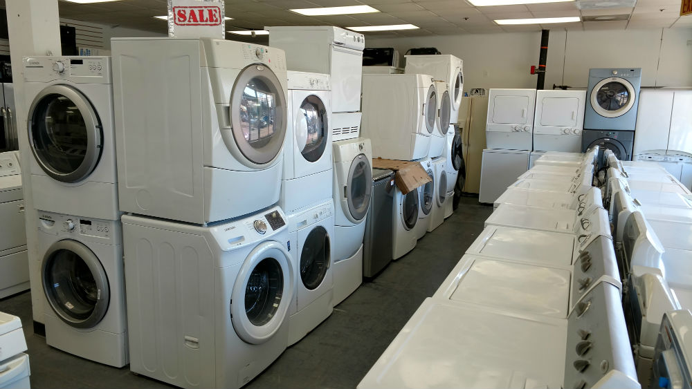 Washington DC Used Washers and Dryers
